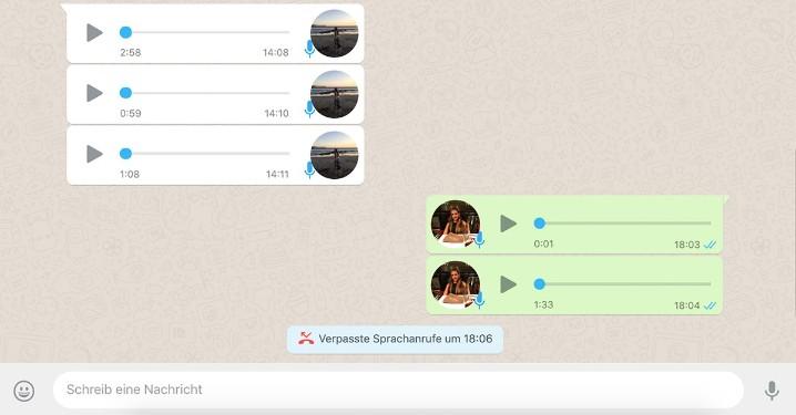 whatsapp web absatz machen
